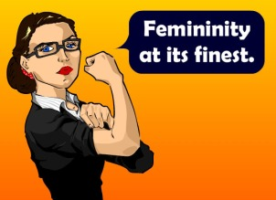 Feminism just does not understand, or value, the intrinsic worth of a true woman.