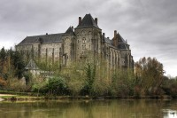 The Abbey of Solesmes in Europe.