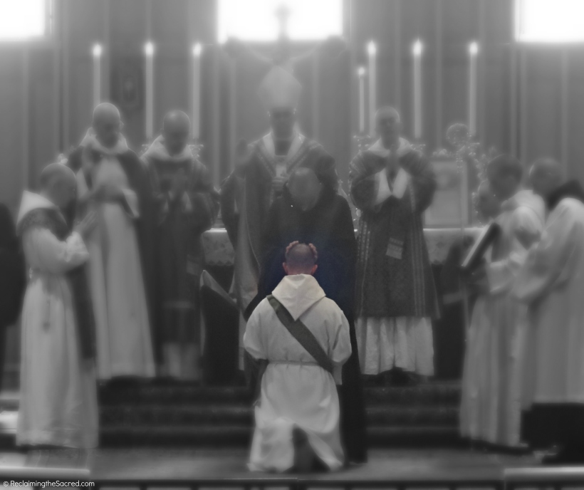 Clear Creek Abbey Ordination